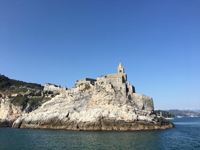 Cinque Terre Italie Porto Venere Eglise San Pietro