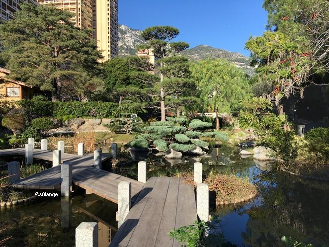 Jardin Japonais Monaco Pont