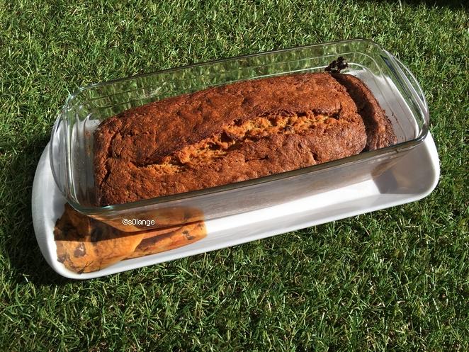 Recette Cake Végétalien Chocolat Banane Cuit