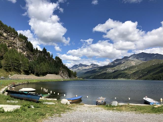Alpes Suisse Italie Col Maloja