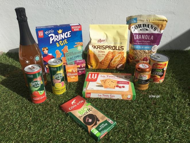 Degusta Box Septembre 2019 Contenu