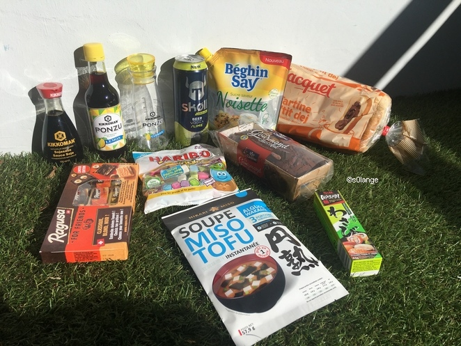 Degusta Box Octobre 2019 Contenu