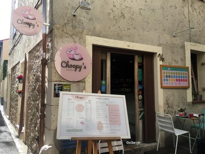 Restaurant Choopy's Antibes Façade