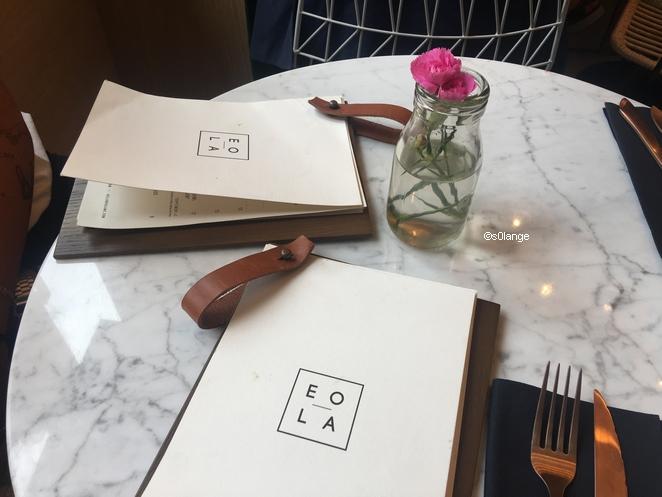 Restaurant Eola Monaco Carte