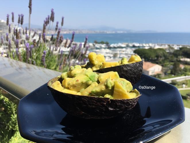 Recette Salade Avocat et Mangue
