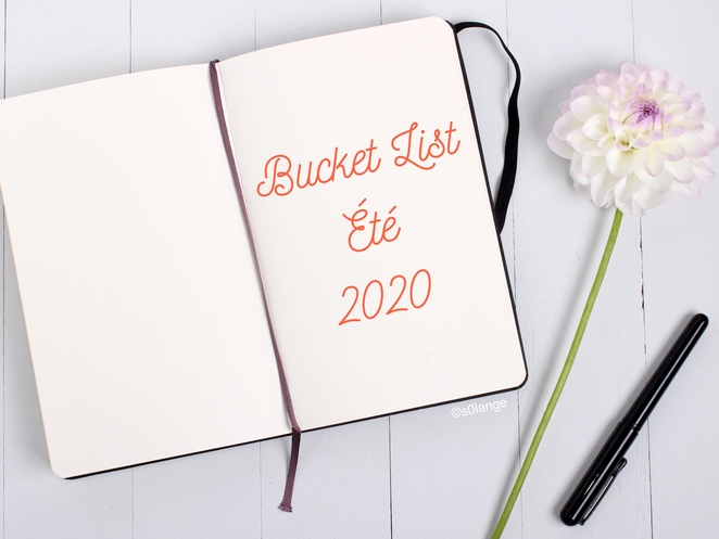 Bucket List Été 2020