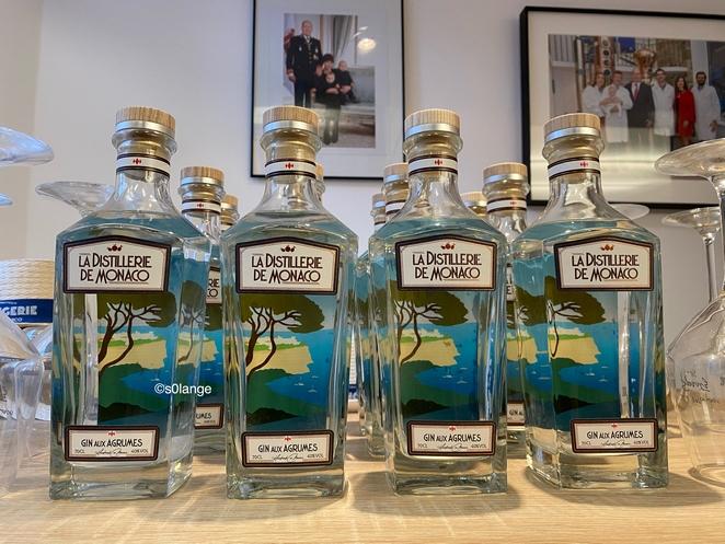 La Distillerie de Monaco Gin aux Agrumes