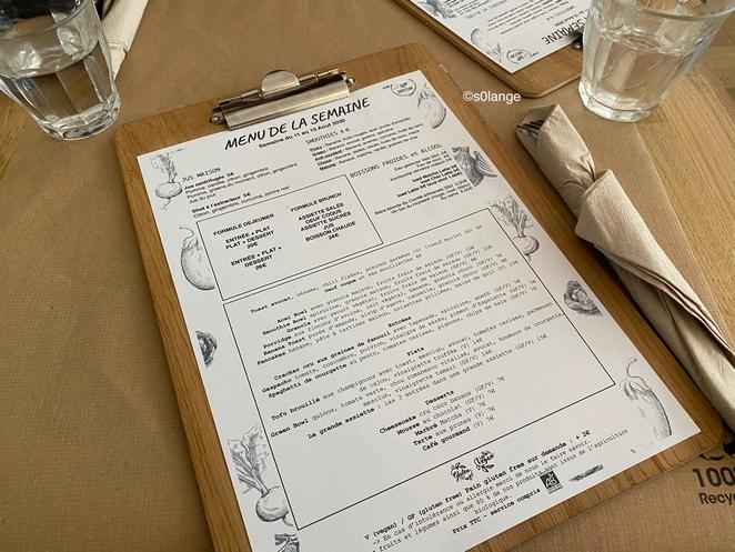 Paper Plane Restaurant Végétalien Nice